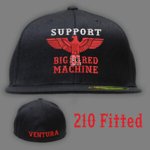 210 Fitted Big Red Machine Ventura
