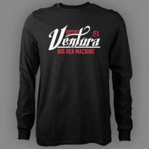Mens Long Sleeve Big Red Machine Ventura