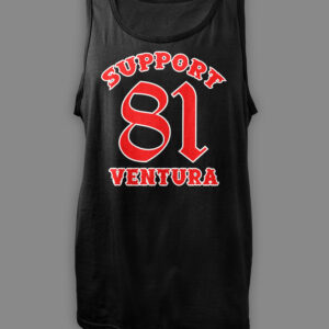 Mens Tank Top Support 81 Ventura