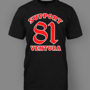 Mens T-Shirt Support 81 Ventura