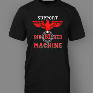 Mens T-Shirt Big Red Machine OG