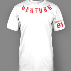 Mens T-Shirt Ventura Collar