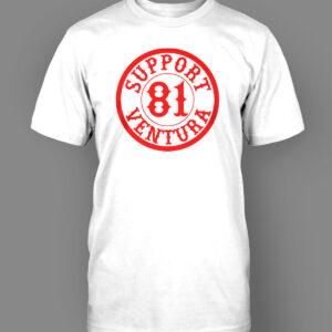 Mens T-Shirt Support 81 Circle